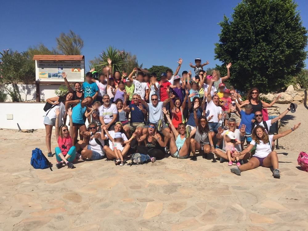 Sara G Aventura en Cabo de Gata Verano 2016